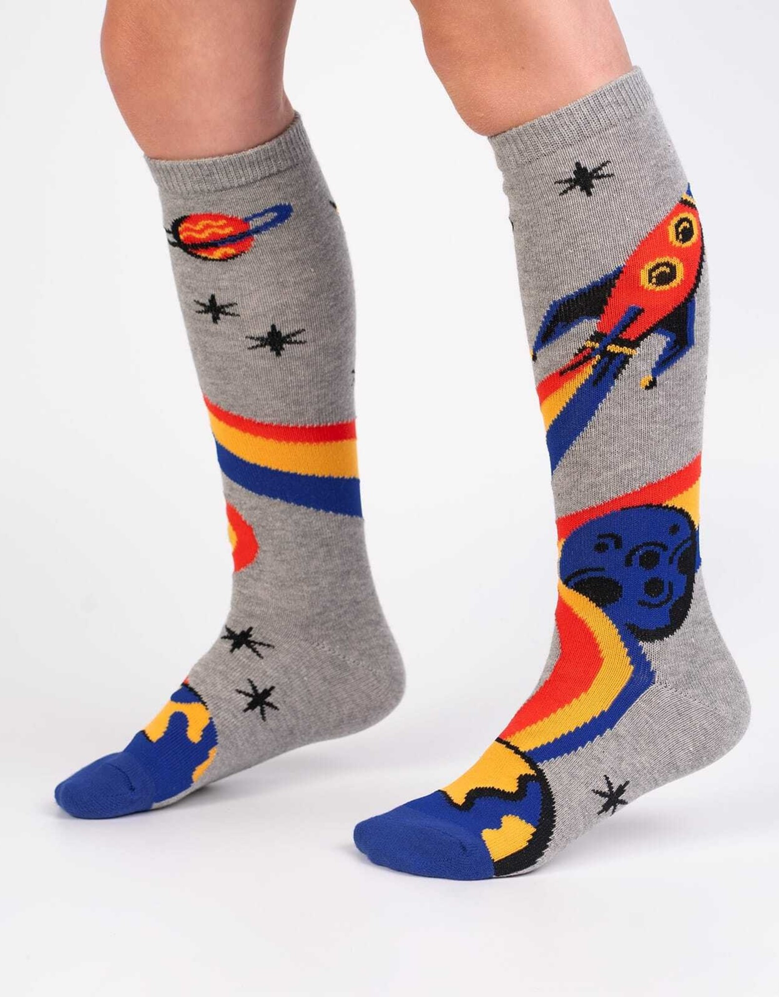 Sock It To Me JUNIOR KNEE: A TRIP TO THE MOON