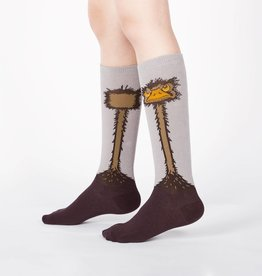 Sock It To Me JUNIOR KNEE: OSTRICH