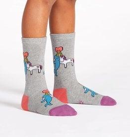 Sock It To Me JUNIOR CREW: GREAT HORNS THINK ALIKE