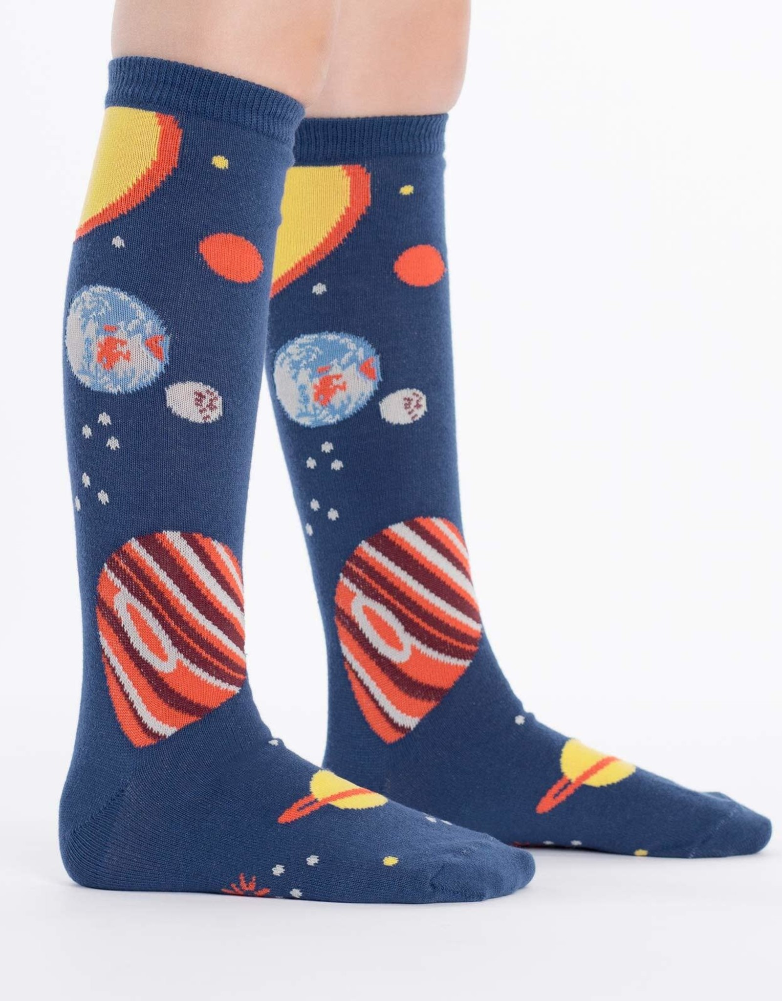 Sock It To Me JUNIOR KNEE: PLANETS
