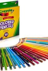 Crayola Crayola Colouring Pencils 50 Set