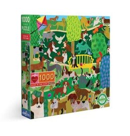 eeBoo DOGS IN THE PARK 1000pc