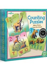 eeBoo ANIMAL COUNTING PUZZLE