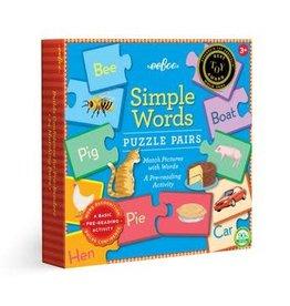 eeBoo SIMPLE WORD PP_3ED SQ BOX