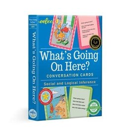 eeBoo WHAT'S GOING ON HERE CONVERSATION CDS