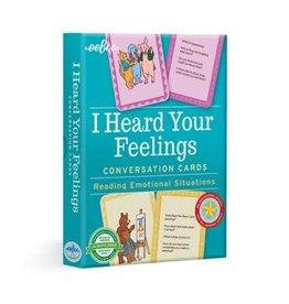 eeBoo I HEARD YOUR FEELINGS CONVERSATION CDS