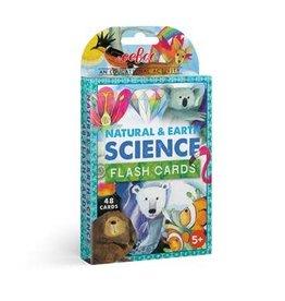 eeBoo FLASH CARDS NATURAL & EARTH SCIENCE