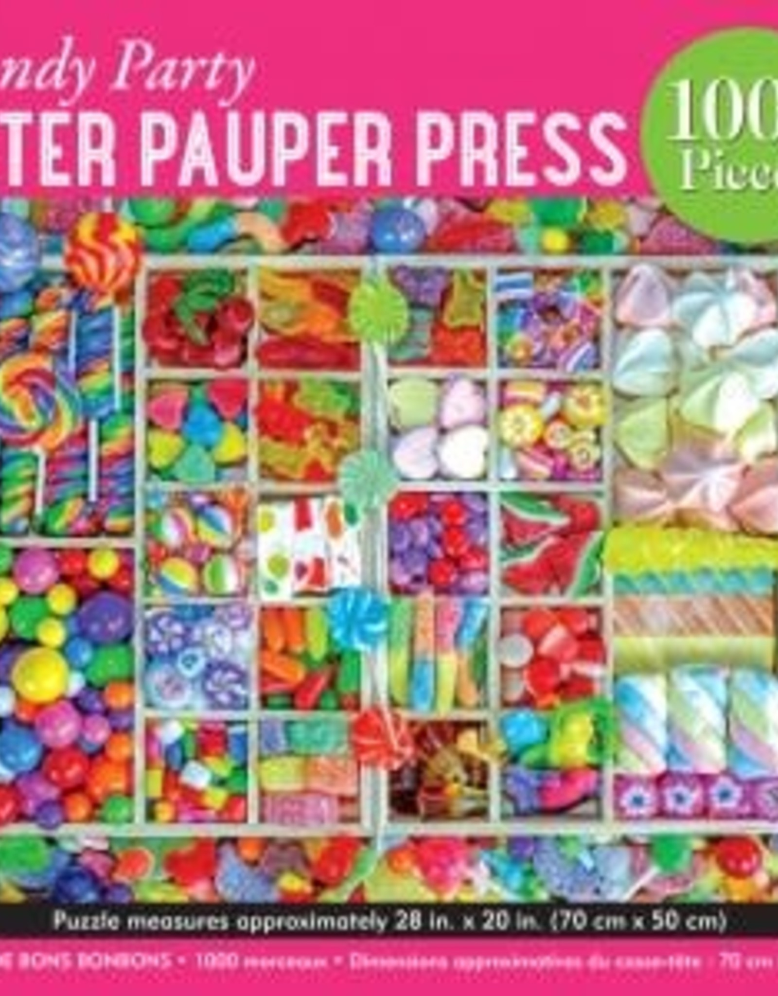 Peter Pauper Press CANDY PARTY 1000 PIECE JIGSAW PUZZLE