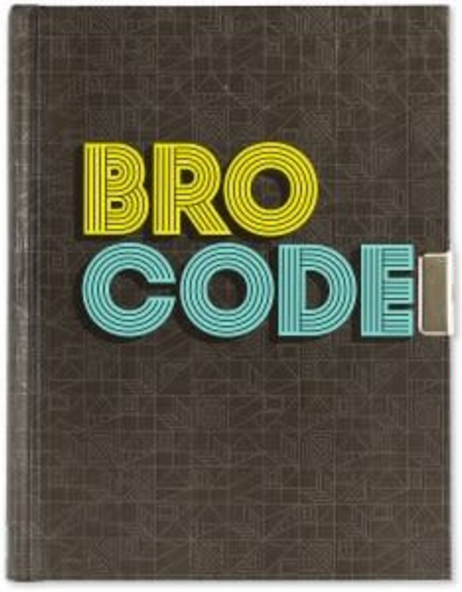 Peter Pauper Press BRO CODE LOCKING JOURNAL