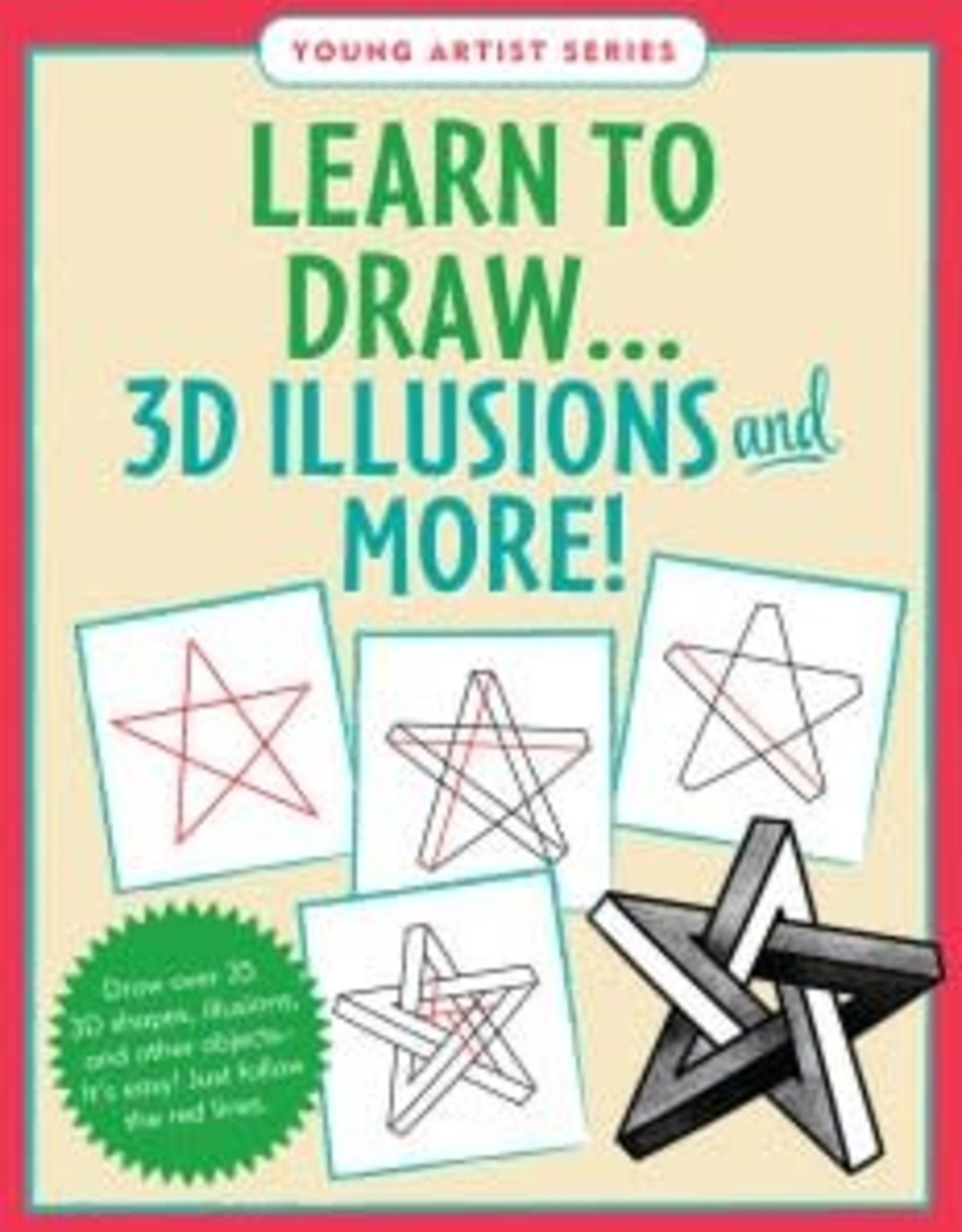 Peter Pauper Press LEARN TO DRAW 3D ILLUSIONS AND MORE