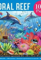 Peter Pauper Press CORAL REEF 1000 PIECE JIGSAW PUZZLE