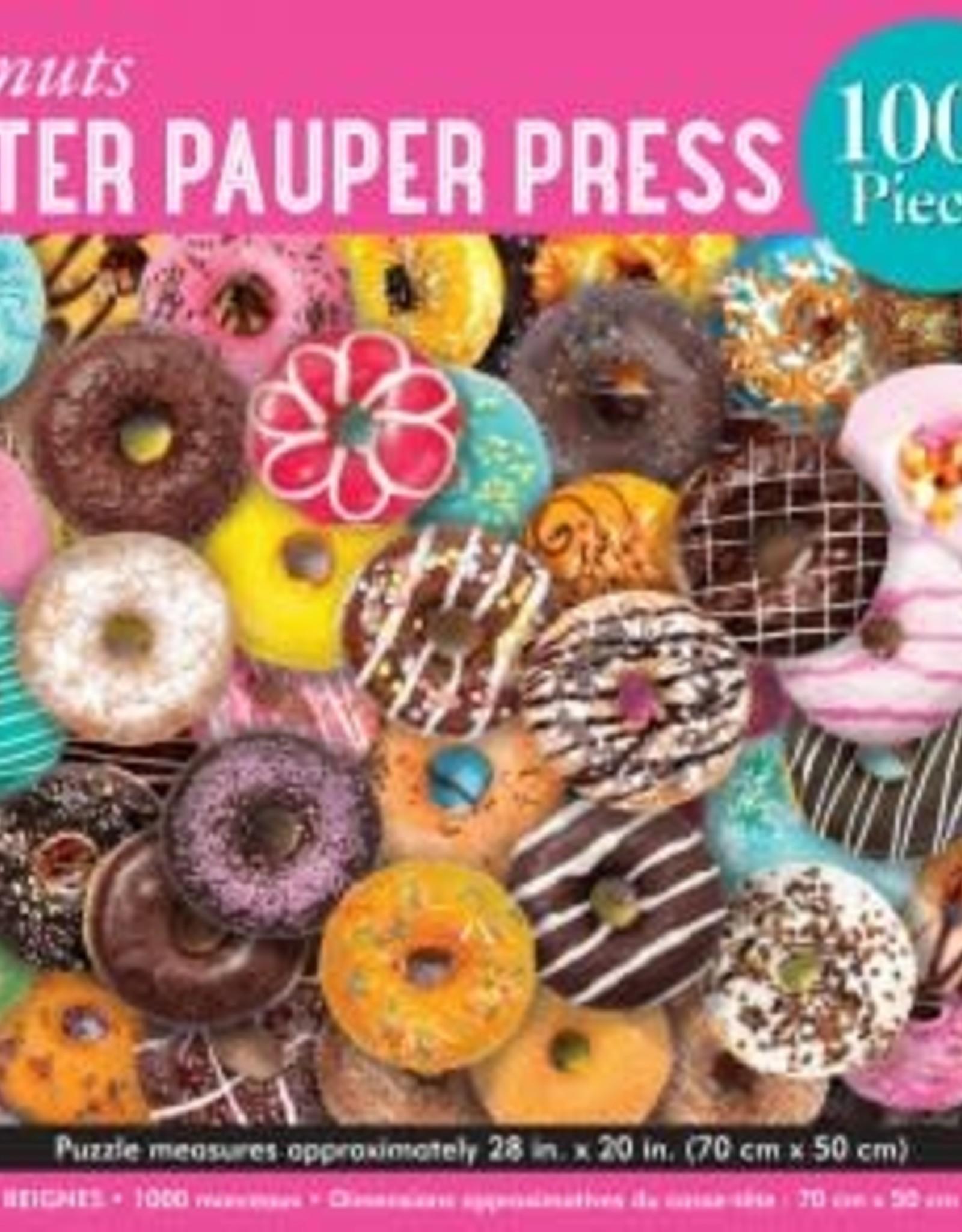 Peter Pauper Press DONUTS 1000 PIECE JIGSAW PUZZLE