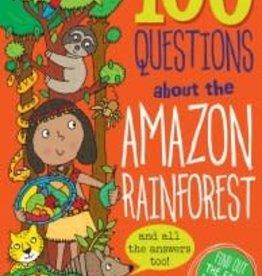 Peter Pauper Press 100 QUESTIONS ABOUT THE AMAZON RAINFOREST