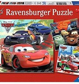Ravensburger Worldwide Racing Fun (3 x 49 pc)