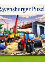 Ravensburger Construction & Cars 2x24p
