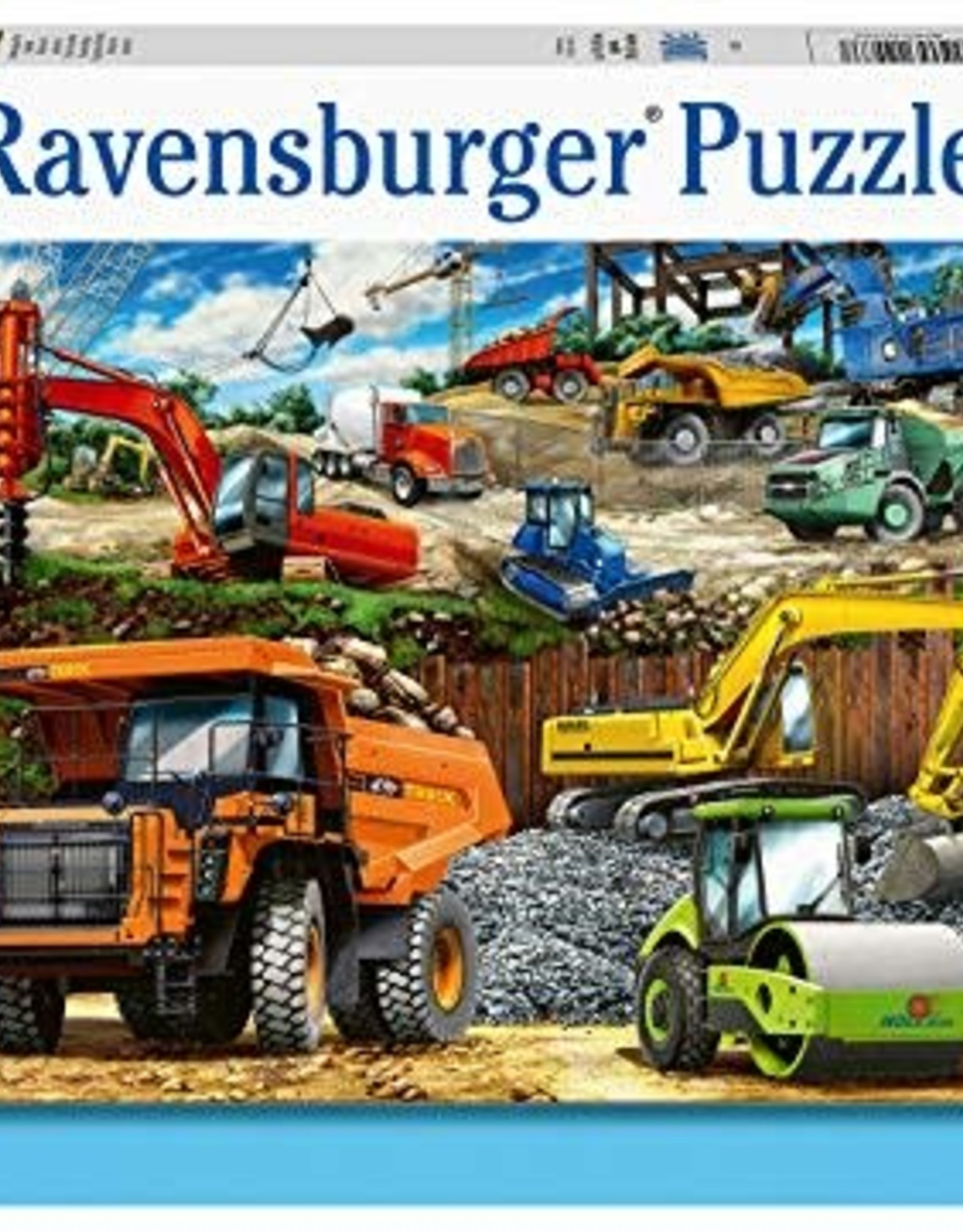 Ravensburger Construction Trucks 100p