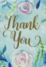 Peter Pauper Press BLUE DREAMS THANK YOU NOTES