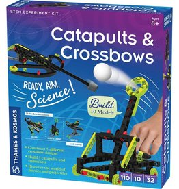 Thames & Kosmos CATAPULTS & CROSSBOWS (4PK)