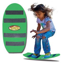 Spooner 24 inch freestyle spooner board green