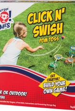 Toysmith Click N' Swish Pom Toss *