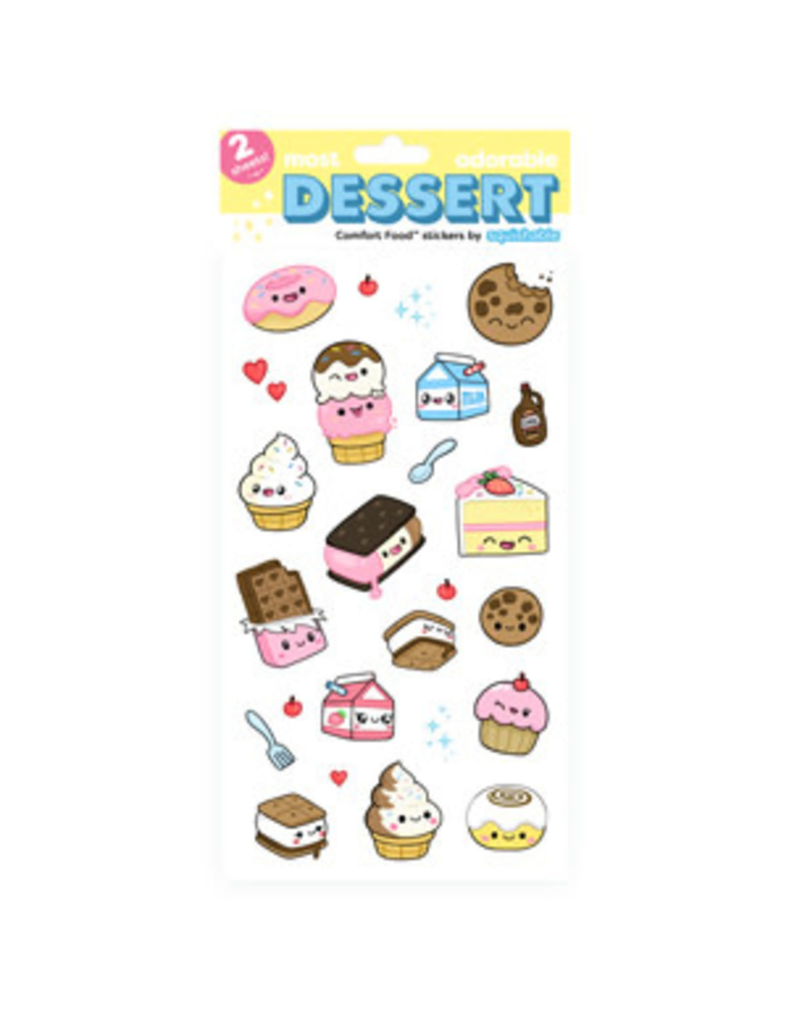 Squishable Dessert Stickers
