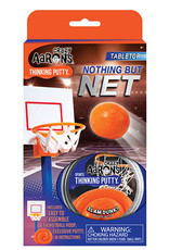 Crazy Aaron's Thinking Putty Sports Putty - Nothing But Net Basketball