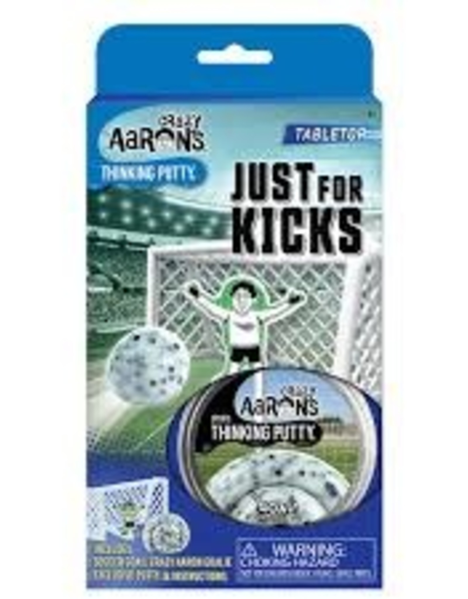 Crazy Aaron's Thinking Putty Sports Putty - Just for Kicks Soccer