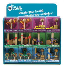 Mind Matters Wood Puzzler with Rope