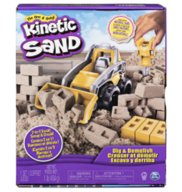 SpinMaster Kinetic Sand Construction Deluxe Truck
