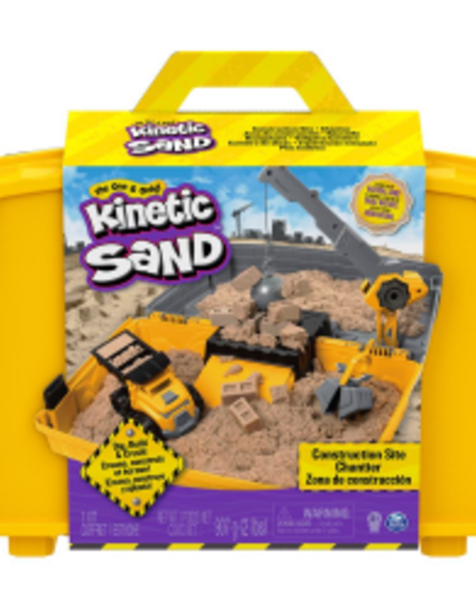 SpinMaster Kinetic Sand Construction Box