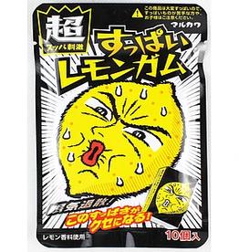 pilnn Marukawa Suppai Sour Lemon Gum  (Japan)