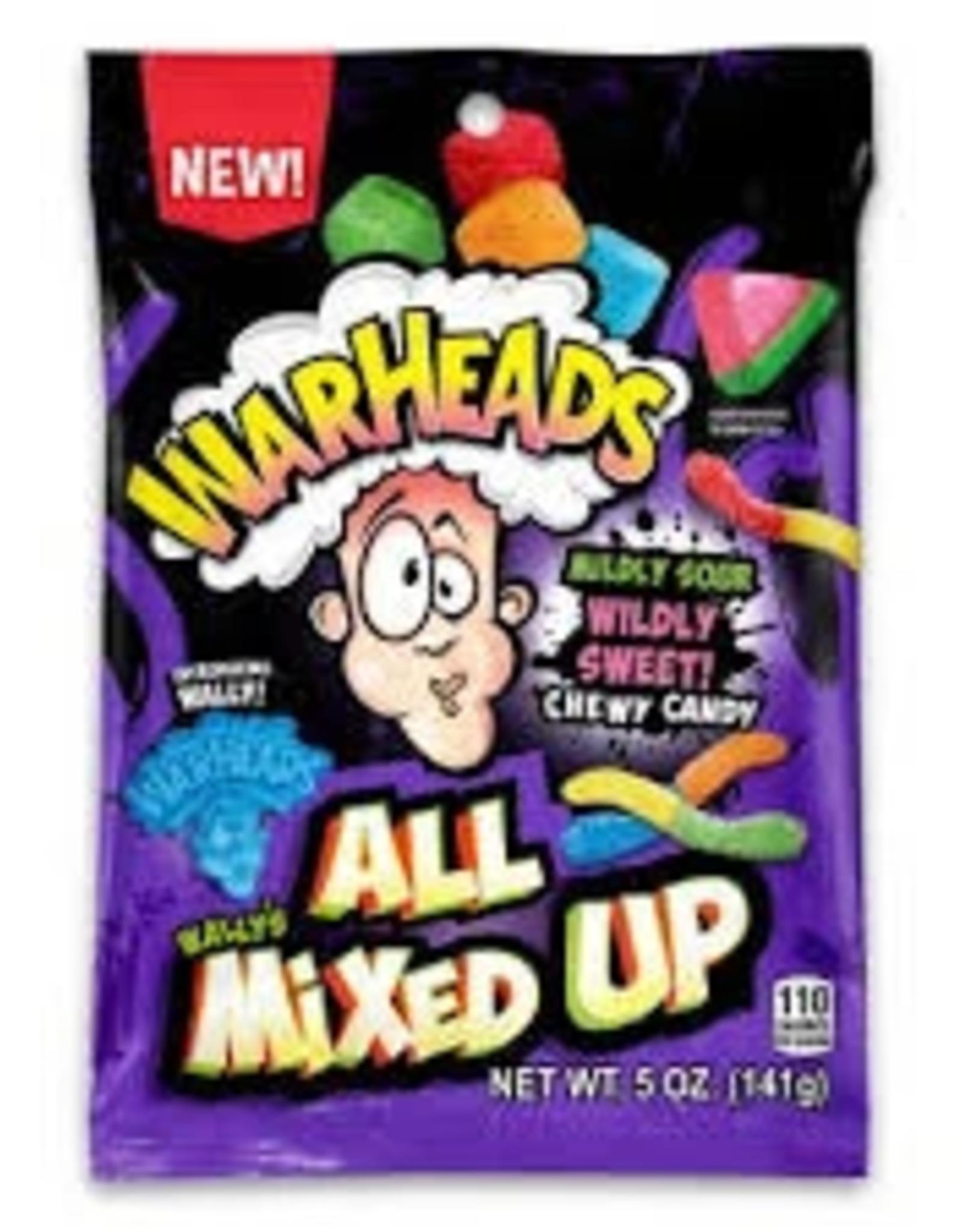 Warheads Warheads All Mixed Up Peg Bag 5oz