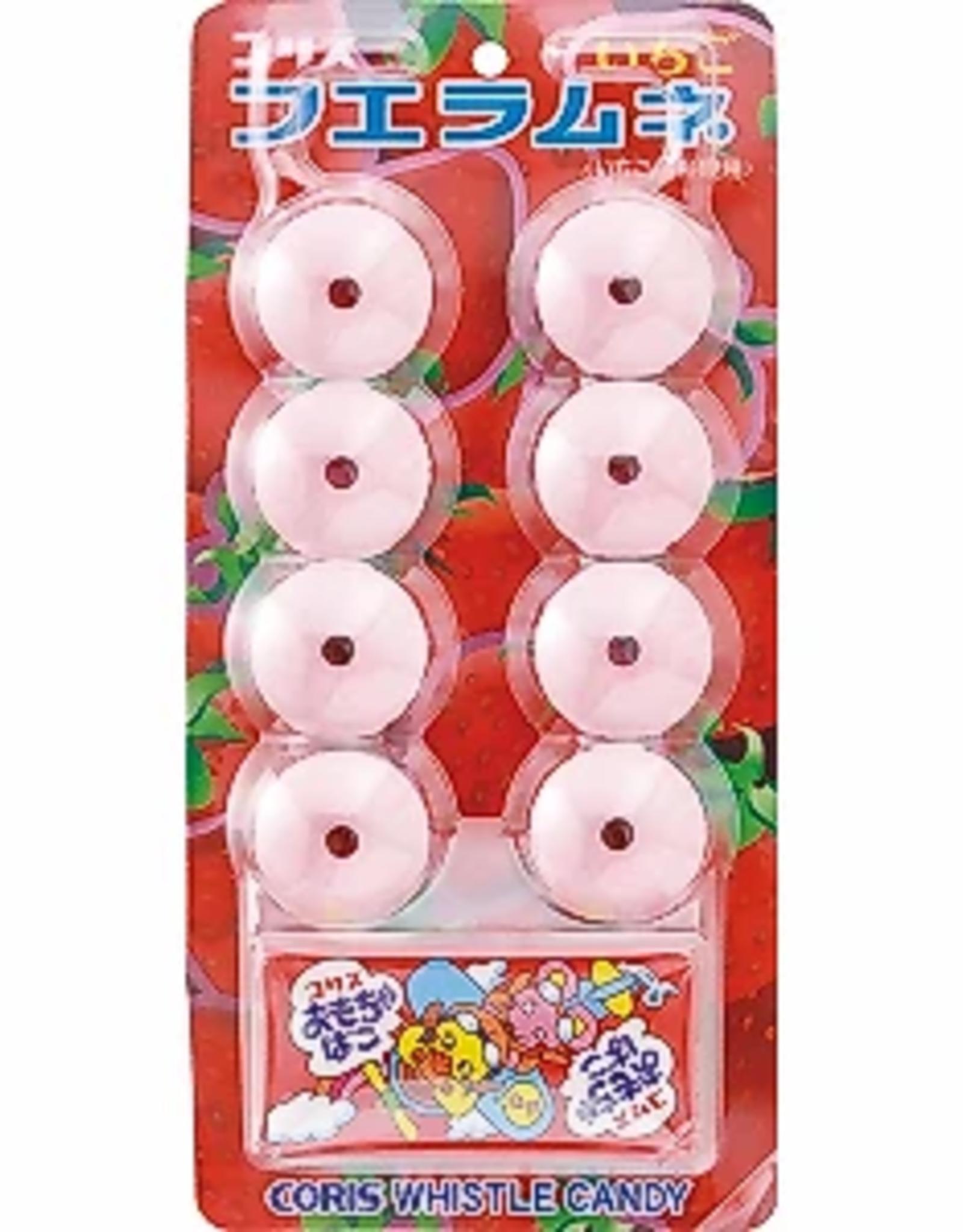 CORIS Strawberry Whistle Candy 22g (Japan)