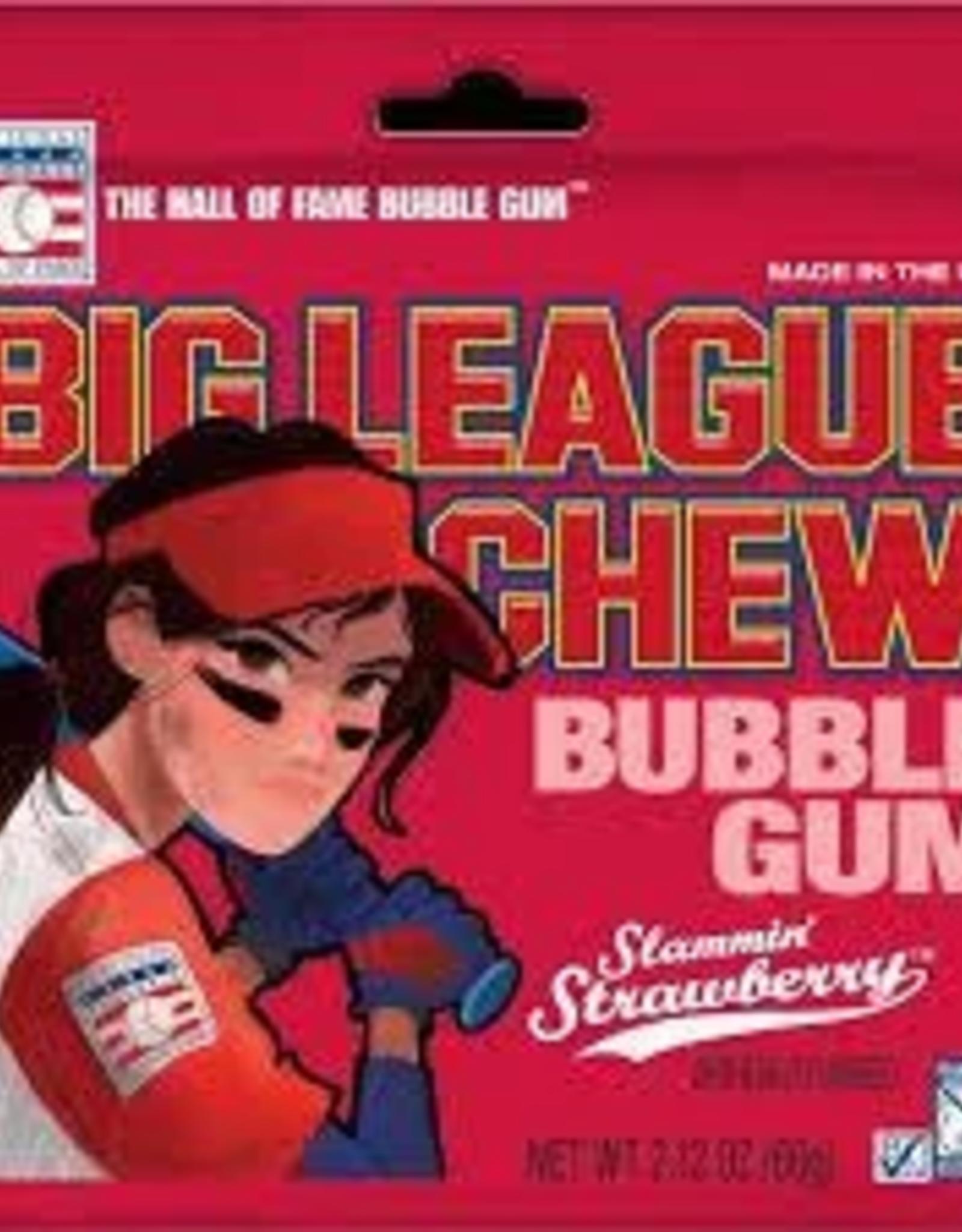 National Baseball Hall Of Fame Big League Chew Girl Strawberry 2.12oz