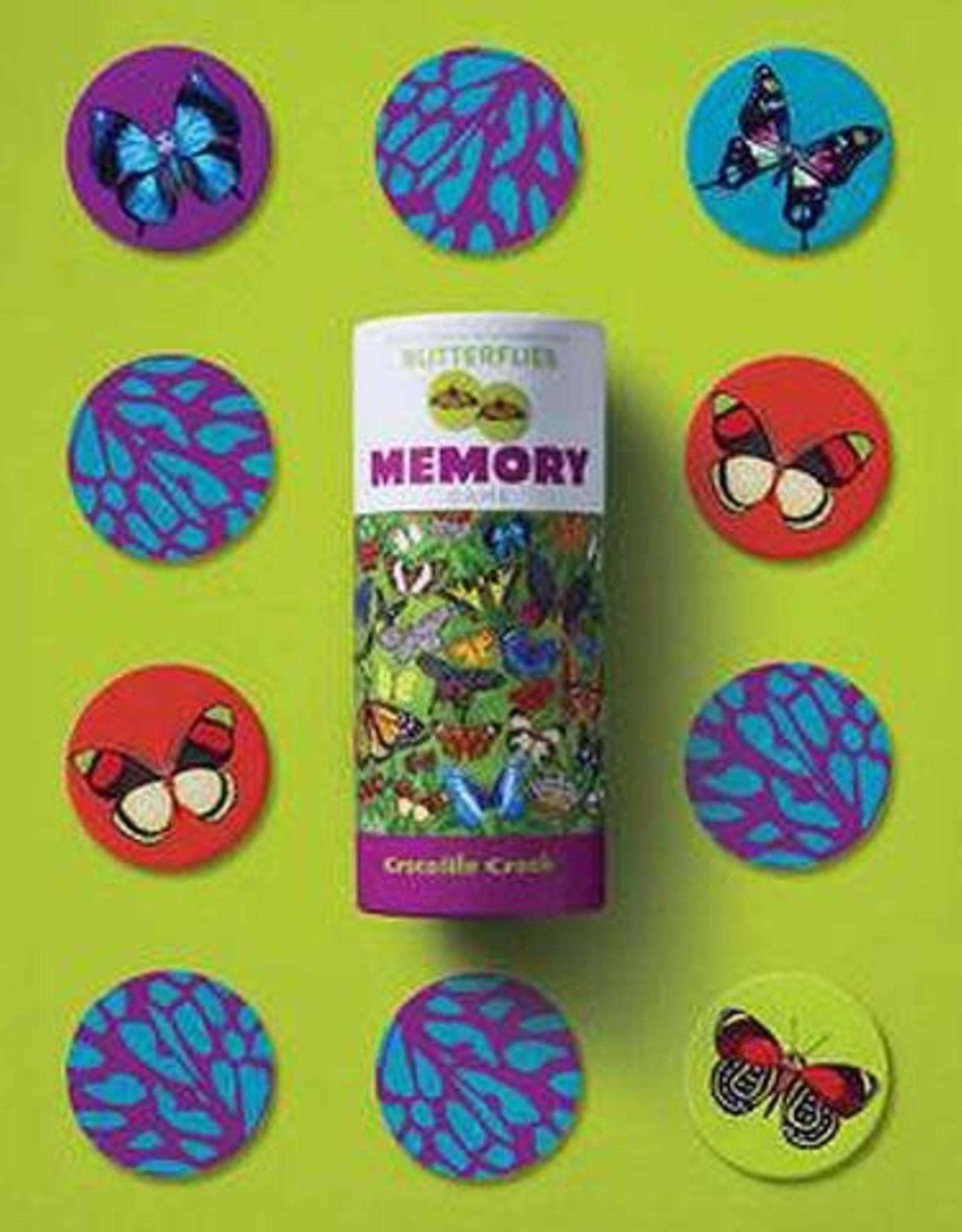 Crocodile Creek Butterflies Memory Game 36pc