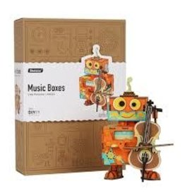 Robotime Little Performer - DIY Music Box