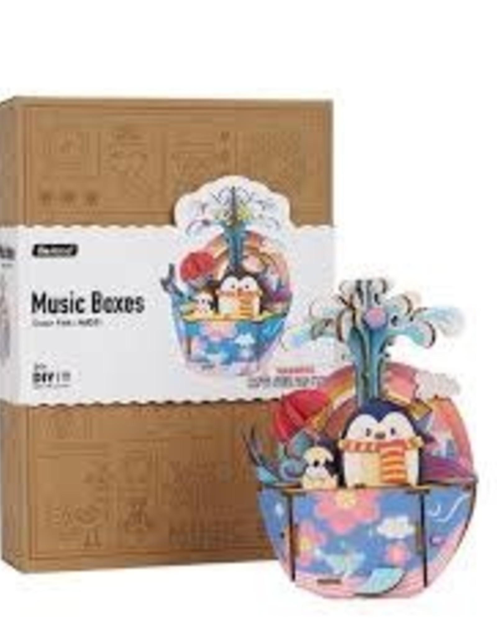 Robotime DIY Music Box - Ocean Park