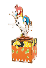 Robotime DIY Wooden Music Box - Birds and Trees