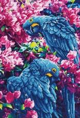 Diamond Dotz Diamond Dotz - Blue Parrots