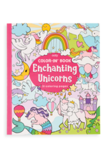 OOLY COLOR-IN BOOK - ENCHANTING UNICORNS