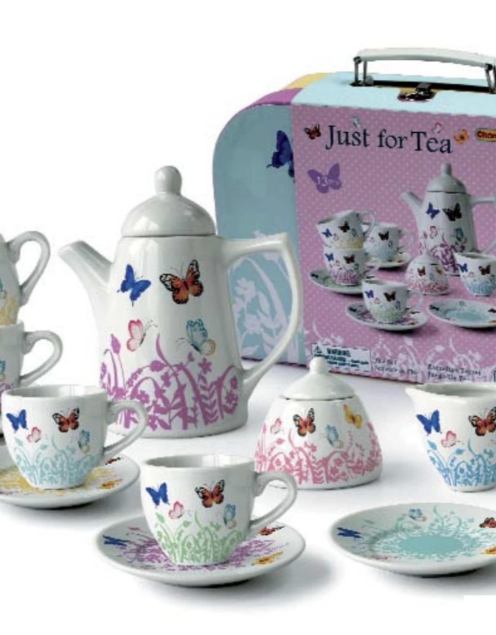 Playwell Butterfly Porcelain Tea Set
