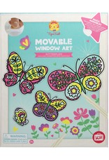 Tiger Tribe Butterflies Movable Window Art