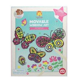 Tiger Tribe Butterflies Movable Window Art