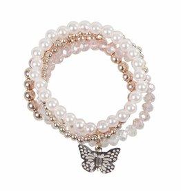 Great Pretenders Blush Crush 4 Pcs Bracelet Set
