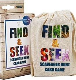 Find & Seek Scavenger Hunt Cards