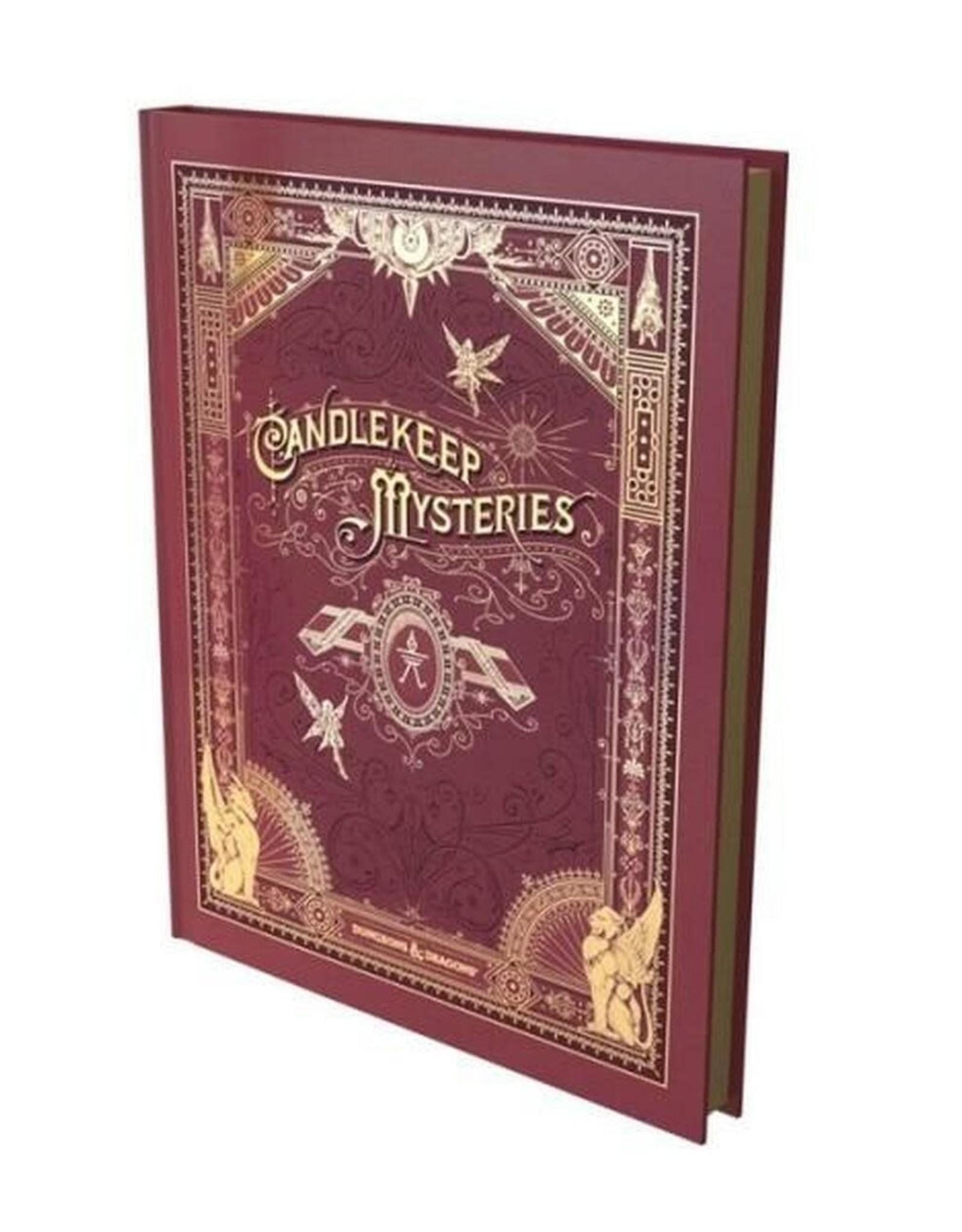 DND RPG Candlekeep Mysteries HC Alt Cover