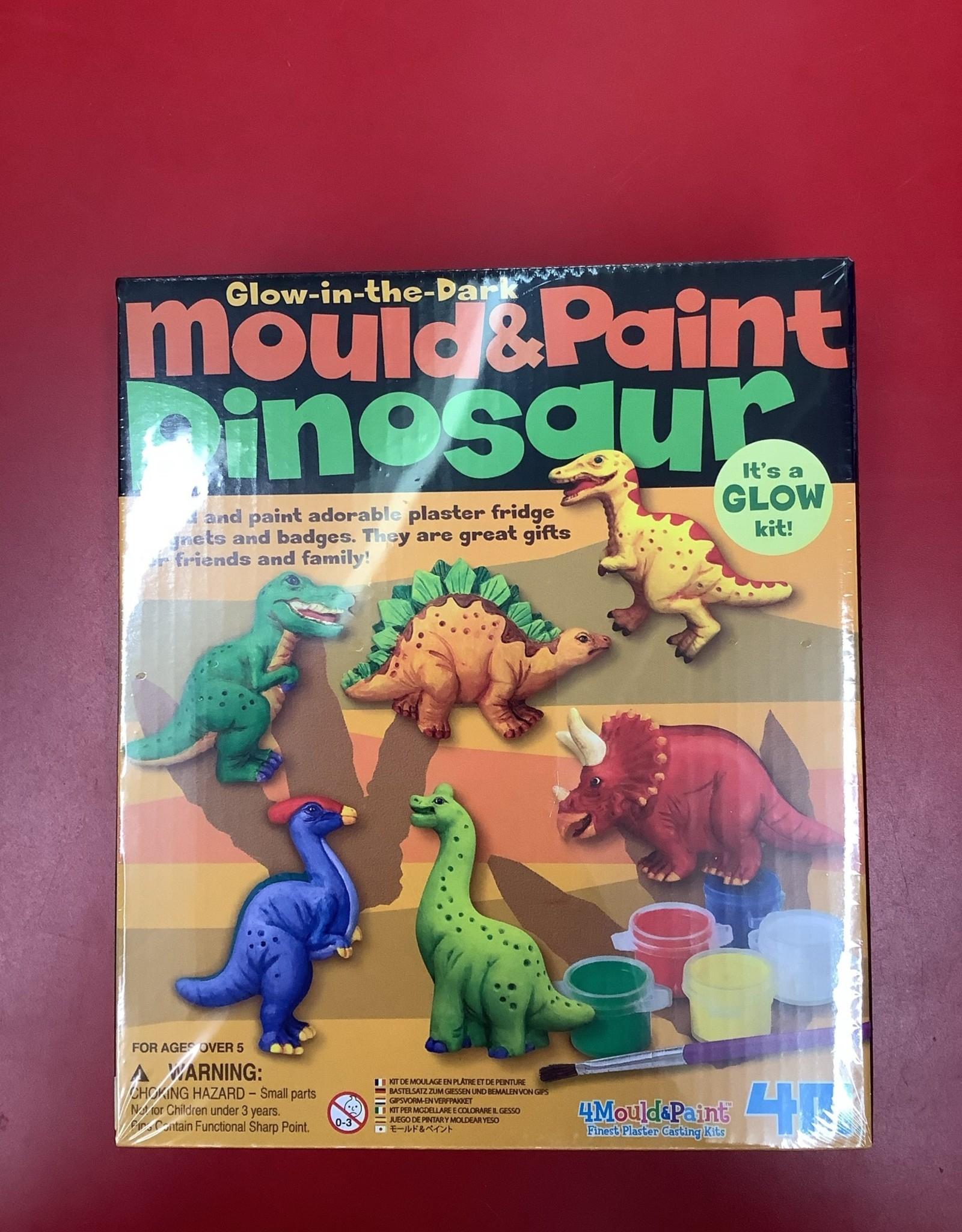 4M LTP Mould & Paint - Glow Dinosaur
