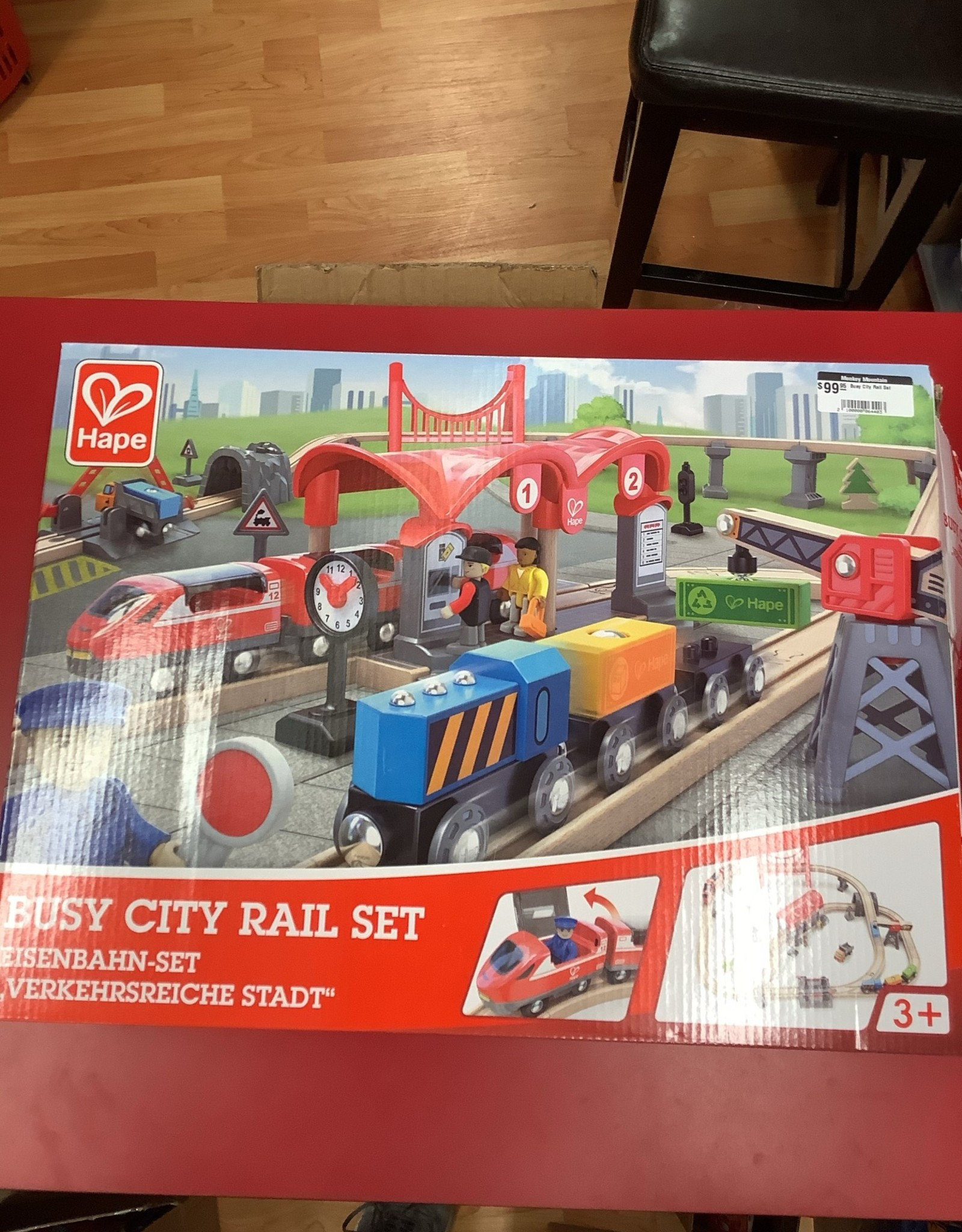 Hape LTP Busy City Rail Set