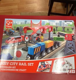 Hape LTP Busy City Rail Set