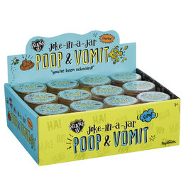 Toysmith Joke-In-A-Jar Poop & Vomit